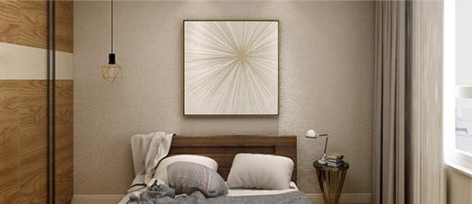 多乐士3D刷漆壁纸-卧室