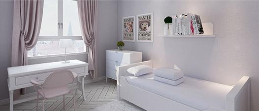 多乐士3D刷漆壁纸-儿童房